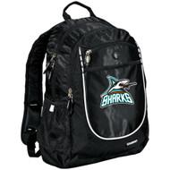 Scarborough Sharks Ogio Carbon Backpack - Black (SSH-057-BK.SN-711140-BLA-OS)
