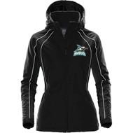 Scarborough Sharks Stormtech Women's Road Warrior Thermal Shell - Black/White (SSH-212-BK)
