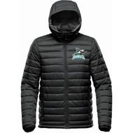 Scarborough Sharks Stormtech Men's Stavanger Thermal Jacket - Black (SSH-113-BK)