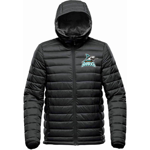 Scarborough Sharks Stormtech Youth Stavanger Thermal Jacket - Black (SSH-313-BK)