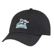 Scarborough Sharks Performance Fabric Cap - Black (SSH-054-BK.AJ-AC0012-BLA-OS)