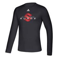 SLC Adidas Men's Creator Long Sleeve Tee - Black (SLC-102-BK)