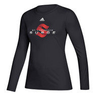 SLC Adidas Women's Creator Long Sleeve Tee - Black (SLC-202-BK)