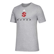 SLC Adidas Youth Amplifier Short Sleeve Tee - Grey (SLC-304-GY)