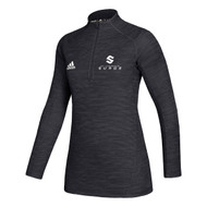 SLC Adidas Women's Game Mode Performance ¼ Zip - Black (SLC-207-BK)