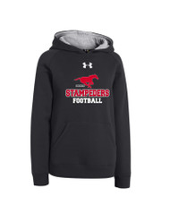 BMFA Under Armour Youth Rival Team Armour Hoodie - Black