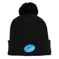 CLS Athletic Knit Acrylic Hockey Toque Black - Youth (CLS-056-BK.AK-A1830Y-001-MD)