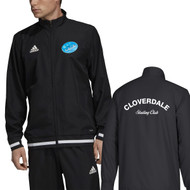 CLS Adidas Youth Team 19 Woven Jacket - Black/White (CLS-311-BK)