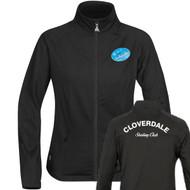 CLS Stormtech Youth Flex Textured Jacket - Black (CLS-312-BK)