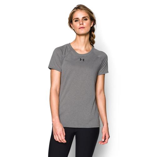 FNF Under Armour Women's Short Sleeve Tee - True Grey (FNF-201-TG)
