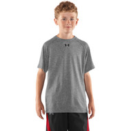 FNF Under Armour Youth Short Sleeve Tee - True Grey (FNF-301-TG)