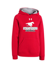BMFA Under Armour Youth Rival Team Armour Hoodie - Red