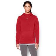 FNF Under Armour Women's Storm Fleece Hoodie - Red (FNF-205-RE)