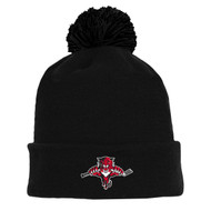 GMH Athletic Knit Acrylic Hockey Toque - Black (GMH-001-BK.AK-A1830-001-OS)