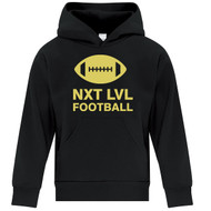 NLF ATC Youth Everyday Fleece Hooded Sweatshirt - Black (NLF-302-BK)