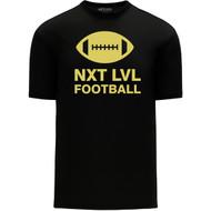 NLF Apparel Men's Short Sleeve Shirts - Black (NLF-105-BK)