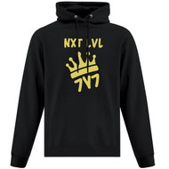 NLF ATC Men's Everyday Fleece Hoodie (Design 02) - Black (NLF-108-BK)