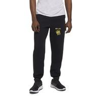 NLF Russell Men's Dri-Power Closed-Bottom Pocket Sweatpants (Design 02) - Black (NLF-116-BK)