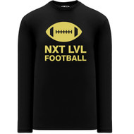 NLF Apparel Youth Long Sleeve Shirts - Black (NLF-306-BK)