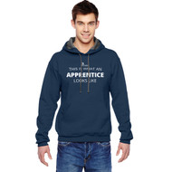 SON Fruit of the Loom Adult SofSpun Hoodie with Apprentice Logo - Navy (Eng Version) (SON-040-NY)