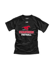 BMFA Under Armour Youth Short Sleeves Locker T-Shirt - Black