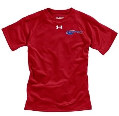 c0e77f6e Newmarket Stingrays Under Armour Game Short Sleeve Locker Tee - Red ...