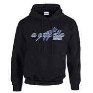 ACP Gildan Adult Heavy Blend Pullover Hooded Sweatshirt - Black (ACP-001-BK)