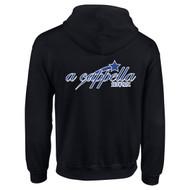 ACP Gildan Adult Heavy Blend 50/50 Full-Zip Hooded Sweatshirt - Black (ACP-002-BK)