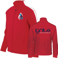 IGN Augusta Sportswear Youth Medalist Jacket 2.0 - Red/White (IGN-301-RE)