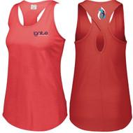IGN Augusta Sportswear Ladies Lux Tri-Blend Tank (Coaches) - Red Heather (IGN-208-RE)