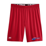 Newmarket Stingrays Under Armour Game Team Raid Short - Youth - Red/White