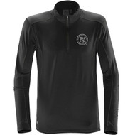 BHH Stormtech Men's Pulse Fleece Pullover - Black/Carbon (BHH-107-BC)