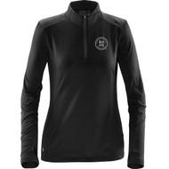 BHH Stormtech Women's Pulse Fleece Pullover - Black/Carbon (BHH-207-BC)