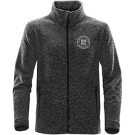 BHH Stormtech Men's Tundra Sweater Fleece Jacket - Dolphin Heather (BHH-108-DO)