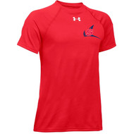 NSW Under Armour Youth Locker T-Shirt - Red (NSW-305-RE)