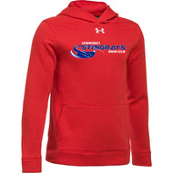 NSW Under Armour Youth Hustle Fleece Hoody - Red (NSW-033-RE)