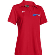 Newmarket Stingrays UA Performance Team Polo - Red/White - Women