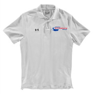 NSW Under Armour Mens Performance Team Polo - White