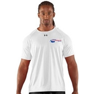 Newmarket Stingrays Under Armour Game Short Sleeve Locker Tee - White/Black - Men's