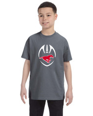 BMFA Gildan Heavy Cotton Youth Tshirt 8.8OZ - Charcoal