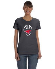 BMFA Gildan Heavy Cotton Ladies Tshirt 8.8OZ - Charcoal