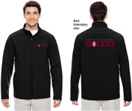 Harbourtown Sound Embroidered Men's Jacket - Black (HTS-012-BK)