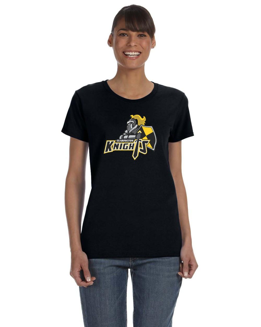 bd12102da1f CMFA Gildan Heavy Cotton Ladies Tshirt - Black | youwear.ca