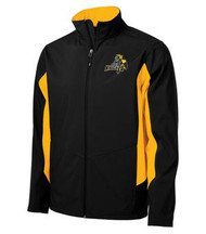 CMFA Coal Harbour Soft Shell Men's Jacket - Black/Gold