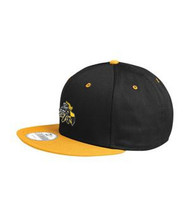 CMFA New Era Flat Bill Snap Nack Colour Block Cap - Black/Gold