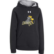 CMFA Under Armour Youth Rival Team Fleece Hoodie - Black