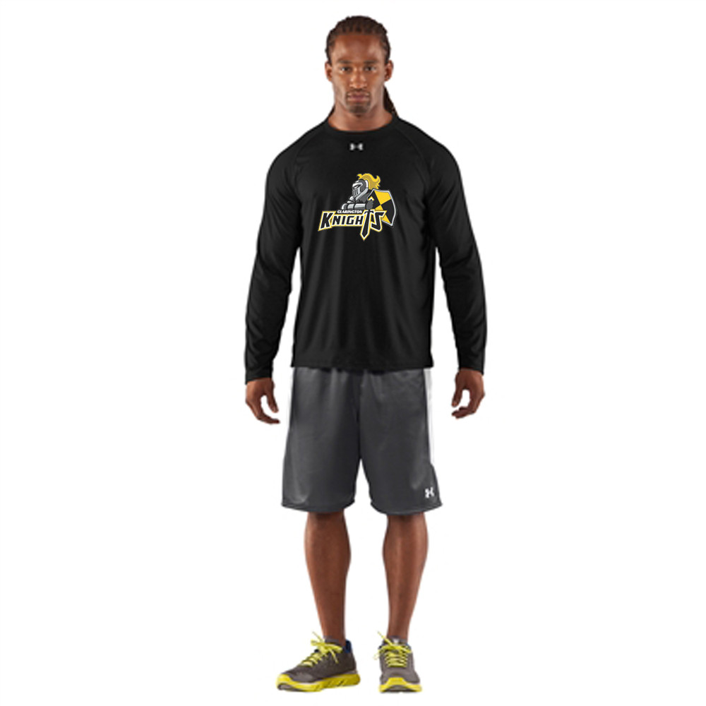 8bda8514a CMFA Under Armour Men's Locker Long Sleeves T-Shirt - Black | YouWear.ca