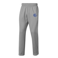 GMB Under Armour Men's Hustle Fleece Pant - True Grey Heather