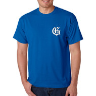 GMB Gildan Men's Short Sleeve Performance Tee - Royal