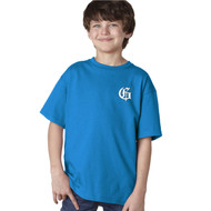 GMB Gildan Youth Short Sleeve Performance Tee - Royal